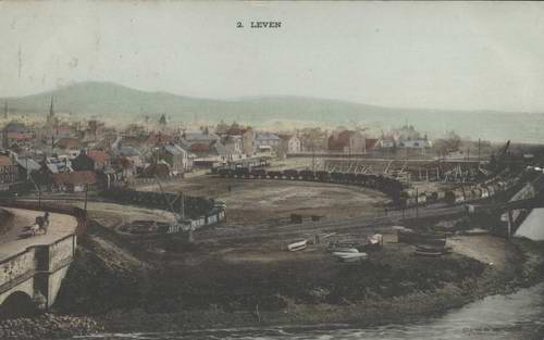 leven harbour and wagons
