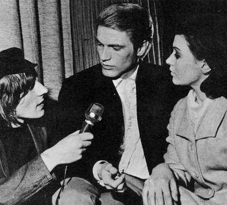 Adam Faith interviewd by Stuart Henry